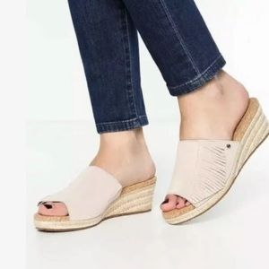 "UGG ""Danes"" slip-on wedges"
